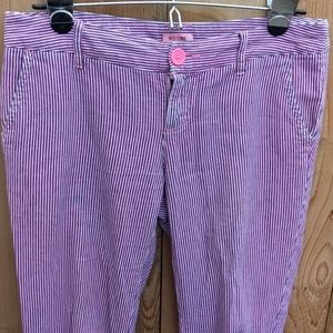 Mossimo Stripped Pink Pants Jeans Low Rise Size 3